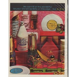 "1963 Old Spice Ad ""Shulton Christmas Gifts"""