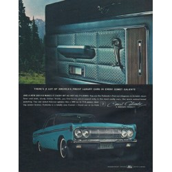 "1964 Ford Mercury Ad ""Comet Caliente"""