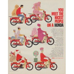 "1963 Honda Ad ""nicest people"""