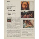 """1963 A LOOK Book Ad """"The Coming Of Christ"""""""