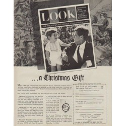"1963 LOOK Magazine Ad ""a Christmas Gift"""