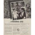 "1963 LOOK Magazine Ad ""a Christmas Gift"""