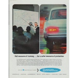 "1965 General Motors Ad ""Guardian Maintenance"""