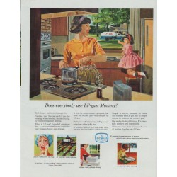 "1965 LP-gas Ad ""Does everybody use LP-gas, Mommy?"""