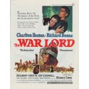 "1965 The War Lord Ad ""Towering Above All Adventures"""