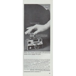 "1965 Kodak Ad ""Pop on a flashcube"""