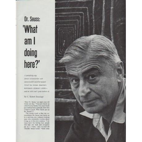 "1965 Theodor Seuss Geisel Article ""Dr. Seuss"""