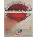 "1967 Jell-O Ad ""Two New Flavors"""