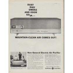 "1960 General Electric Ad ""Mountain-Clean Air"""