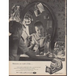 "1960 Scotch Tape Ad ""Memories"""
