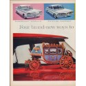 "1961 Body by Fisher Ad ""Four brand-new ways"""