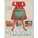 "1960 Sylvania TV Ad ""reflection-free"""
