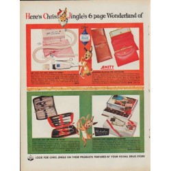 "1960 Rexall Drug Store Ad ""6 page Wonderland"""