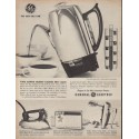 """1960 General Electric Ad """"The New Idea Line"""""""