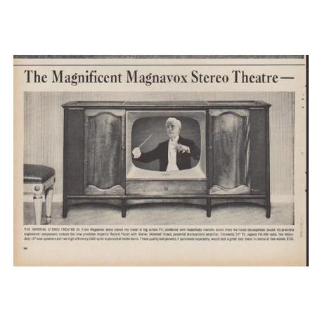 "1960 Magnavox TV Ad ""The Magnificent Magnavox Stereo Theatre"""
