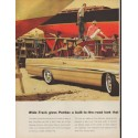 "1961 Pontiac Bonneville Ad ""look that can't be copied"""