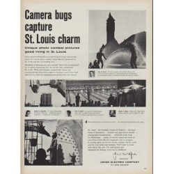 "1960 Union Electric Company Ad ""Camera bugs"""