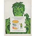 "1960 Green Giant Ad ""the little green dot"""
