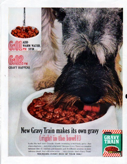 The Gravy Train product line includes 5 dry dog foods. Each recipe below includes its related AAFCO nutrient profile when available on the product's official webpage: G rowth, M aintenance, A ll Life Stages, S upplemental or U nspecified.
