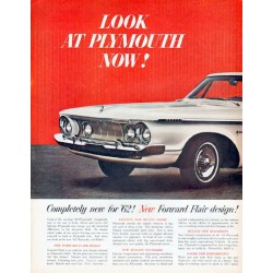 "1962 Plymouth Fury Ad ""Completely new for '62"""