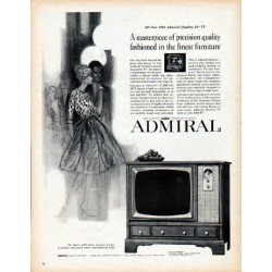 "1962 Admiral Television Ad ""masterpiece of precision"""