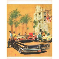 "1962 Pontiac Grand Prix Ad ""Grand Prix is the name"""