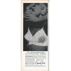 "1961 Exquisite Form Ad ""Lets You Breathe"""