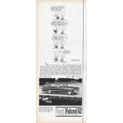 "1962 Ford Falcon Ad ""It's too late, Linus"""