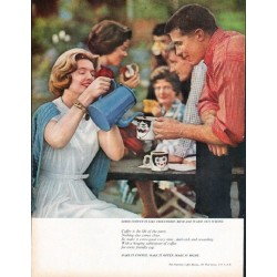 "1961 Pan-American Coffee Bureau Ad ""Good Coffee"""
