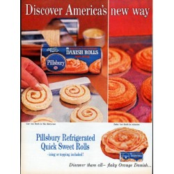 "1961 Pillsbury Ad ""America's new way"""