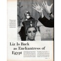 "1961 Elizabeth Taylor Article ""Enchantress of Egypt"""