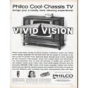 "1961 Philco Television Ad ""Vivid Vision"""