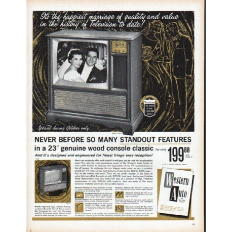 "1961 Truetone TV Ad ""It's the happiest marriage"""