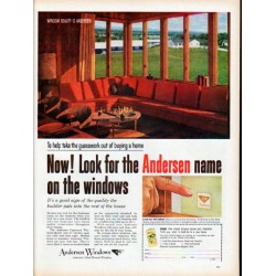 "1961 Andersen Windows Ad ""guesswork"""