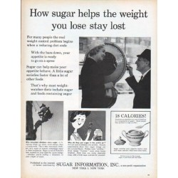 "1961 Sugar Information, Inc. Ad ""How sugar helps"""