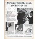 "1961 Sugar Information, Inc. Ad ""How sugar helps"""