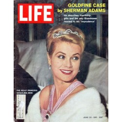 "1961 LIFE Magazine Cover Page ""The Kelly Princess"""