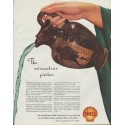 "1942 Shell Motor Oil Ad ""The Miraculous Pitcher"""