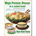 "1961 Star-Kist Tuna Ad ""High-Protein Dinner"""