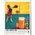 """1961 Tang Breakfast Drink Ad """"Punchier Taste"""""""