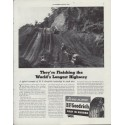 "1942 B.F. Goodrich Ad ""World's Longest Highway"""