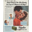 "1942 Palmolive Soap Ad ""New Skin Beauty"""