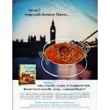 "1962 Knorr Soup Ad ""faraway flavor"""