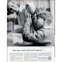 "1962 Foundation for Commercial Banks Ad ""never outgrow"""