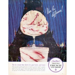 "1962 Sealtest Ice Cream Ad ""Vive la difference"""