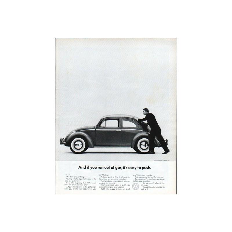 1962 Volkswagen Vintage Ad \