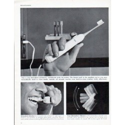 "1962 Squibb Ad ""Broxodent"""