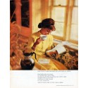 "1962 Pan-American Coffee Bureau Ad ""Good coffee is like friendship"""