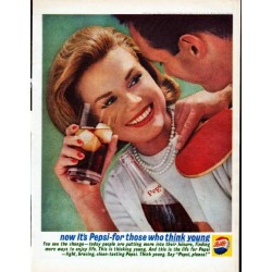 "1962 Pepsi-Cola Ad ""now it's Pepsi"""