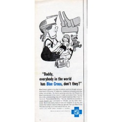 "1962 Blue Cross Ad ""Daddy"""